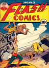 Cover for Flash Comics (DC, 1940 series) #13 [Without Canadian Price]
