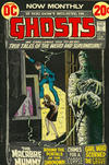 Cover for Ghosts (DC, 1971 series) #12