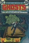 Cover for Ghosts (DC, 1971 series) #15