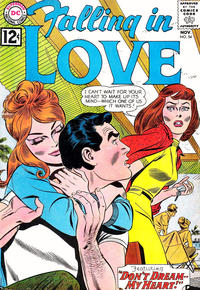 Cover Thumbnail for Falling in Love (DC, 1955 series) #54
