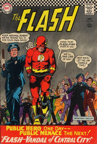 Cover Thumbnail for The Flash (DC, 1959 series) #164