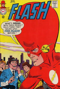 Cover Thumbnail for The Flash (DC, 1959 series) #177