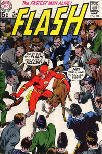 Cover Thumbnail for The Flash (DC, 1959 series) #195