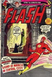 Cover for The Flash (DC, 1959 series) #208 [UK Price Variant]