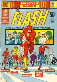 Cover for The Flash (DC, 1959 series) #214