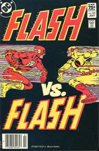 Cover for The Flash (DC, 1959 series) #323 [Canadian Newsstand Edition]