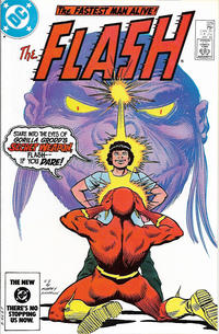 Cover Thumbnail for The Flash (DC, 1959 series) #329 [Direct]