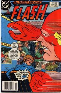 Cover Thumbnail for The Flash (DC, 1959 series) #334 [newsstand]