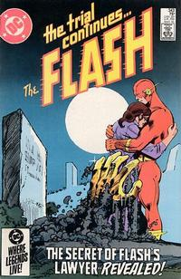 Cover Thumbnail for The Flash (DC, 1959 series) #343 [Direct]