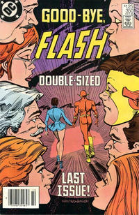 Cover Thumbnail for The Flash (DC, 1959 series) #350 [Newsstand Edition]
