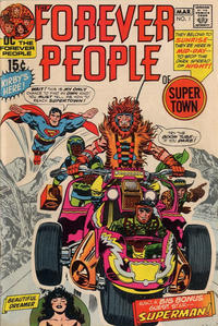 Cover Thumbnail for The Forever People (DC, 1971 series) #1