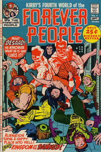 Cover Thumbnail for The Forever People (DC, 1971 series) #4
