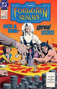 Cover Thumbnail for Forgotten Realms Comic Book (DC, 1989 series) #23 [Direct]