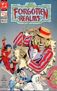 Cover Thumbnail for Forgotten Realms Comic Book (DC, 1989 series) #24 [Direct]