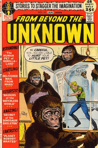 Cover Thumbnail for From Beyond the Unknown (DC, 1969 series) #14