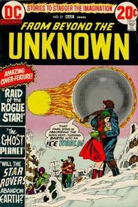 Cover Thumbnail for From Beyond the Unknown (DC, 1969 series) #21