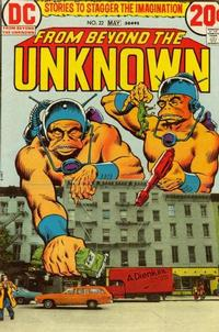 Cover Thumbnail for From Beyond the Unknown (DC, 1969 series) #22