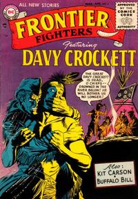 Cover Thumbnail for Frontier Fighters (DC, 1955 series) #4
