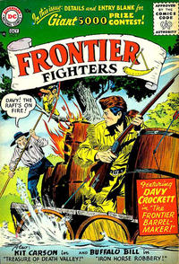 Cover Thumbnail for Frontier Fighters (DC, 1955 series) #7