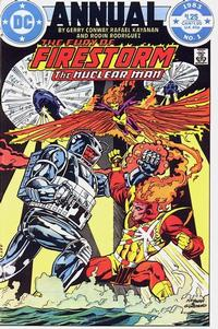 Cover Thumbnail for Fury of Firestorm Annual (DC, 1983 series) #1 [Direct]