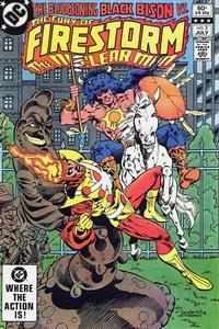 Cover Thumbnail for The Fury of Firestorm (DC, 1982 series) #2 [Direct Sales]