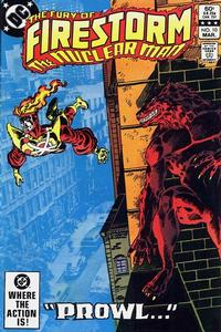 Cover Thumbnail for The Fury of Firestorm (DC, 1982 series) #10 [Direct]