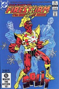 Cover Thumbnail for The Fury of Firestorm (DC, 1982 series) #13 [Direct]