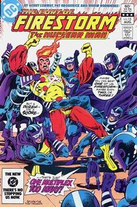 Cover Thumbnail for The Fury of Firestorm (DC, 1982 series) #15 [Direct]