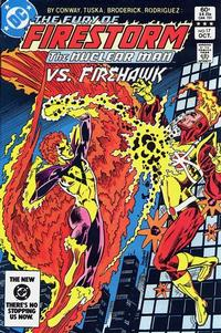 Cover Thumbnail for The Fury of Firestorm (DC, 1982 series) #17 [Direct Edition]