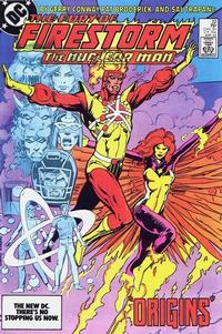 Cover Thumbnail for The Fury of Firestorm (DC, 1982 series) #22 [Direct]