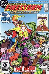 Cover Thumbnail for The Fury of Firestorm (DC, 1982 series) #25 [Direct]