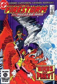 Cover Thumbnail for The Fury of Firestorm (DC, 1982 series) #27 [Direct]