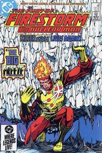 Cover Thumbnail for The Fury of Firestorm (DC, 1982 series) #34 [Direct Sales]