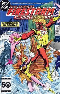 Cover Thumbnail for The Fury of Firestorm (DC, 1982 series) #36 [Direct Sales]