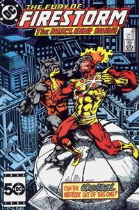 Cover Thumbnail for The Fury of Firestorm (DC, 1982 series) #39 [Direct Sales]