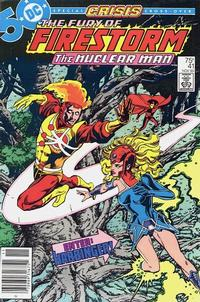 Cover Thumbnail for The Fury of Firestorm (DC, 1982 series) #41 [Newsstand]