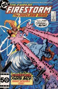 Cover Thumbnail for The Fury of Firestorm (DC, 1982 series) #44 [Direct]