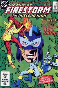 Cover Thumbnail for The Fury of Firestorm (DC, 1982 series) #47 [Direct]