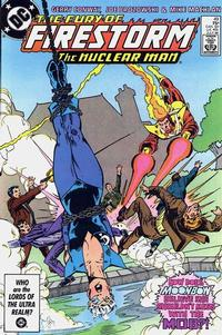 Cover Thumbnail for The Fury of Firestorm (DC, 1982 series) #49 [Direct Sales]