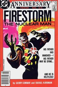 Cover Thumbnail for The Fury of Firestorm (DC, 1982 series) #50