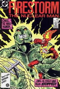 Cover Thumbnail for The Fury of Firestorm (DC, 1982 series) #52 [Direct Sales]