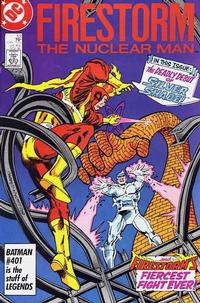 Cover Thumbnail for The Fury of Firestorm (DC, 1982 series) #53 [Direct Sales]