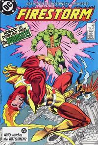 Cover Thumbnail for The Fury of Firestorm (DC, 1982 series) #58 [Direct Sales]