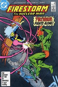 Cover Thumbnail for The Fury of Firestorm (DC, 1982 series) #59 [Direct Sales]
