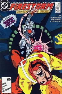 Cover Thumbnail for The Fury of Firestorm (DC, 1982 series) #63 [Direct Sales]