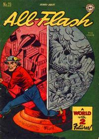 Cover Thumbnail for All-Flash (DC, 1941 series) #23