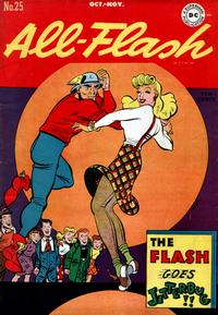 Cover Thumbnail for All-Flash (DC, 1941 series) #25