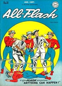 Cover Thumbnail for All-Flash (DC, 1941 series) #30