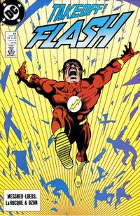 Cover Thumbnail for Flash (DC, 1987 series) #24 [Direct]
