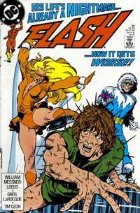 Cover Thumbnail for Flash (DC, 1987 series) #28 [Direct]